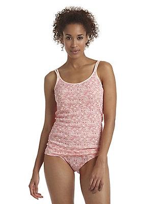 - Spaghettiträgerhemd aus reiner Bio-Baumwolle