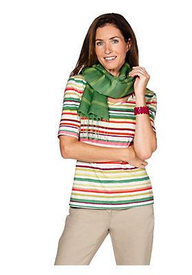 - Streifen-Shirt aus reiner Bio-Baumwolle
