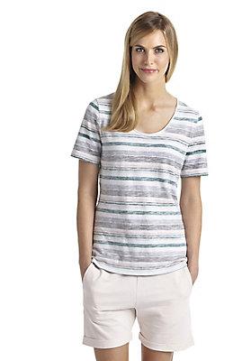 - Streifenshirt aus reiner Bio-Baumwolle