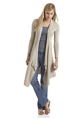 Jacken - Strickjacke aus reiner Bio-Baumwolle