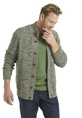 neu-herren-bekleidung - Strickjacke aus reiner Bio-Baumwolle