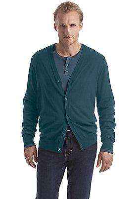 Pullover-und-Strickjacken Herren - Strickjacke aus reiner Bio-Schurwolle