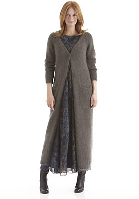 highlights-der-herbst-winter-kollektion-2014 - Strickmantel aus Mohair mit Seide