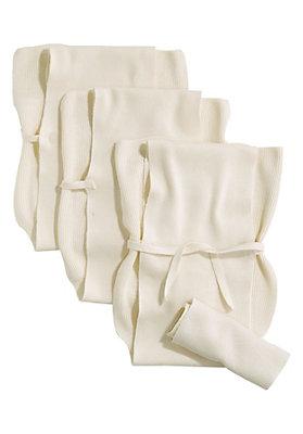 - Strickwindel im 3er-Pack aus reiner Bio-Baumwolle