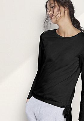- Sweatshirt aus Bio-Baumwolle mit Kapok