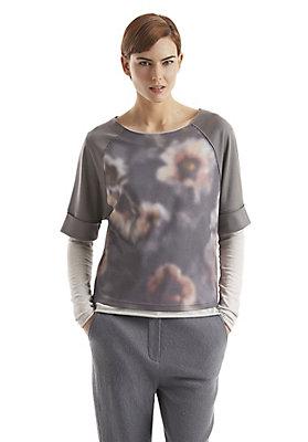 - Sweatshirt aus Bio-Baumwolle und Modal
