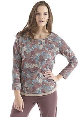 damen-neuheiten-herbst-kollektion-2014 - Sweatshirt-bedruckt aus reiner Bio-Baumwolle