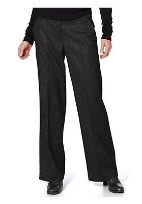 Hosen - Tweedhose aus reiner Schurwolle