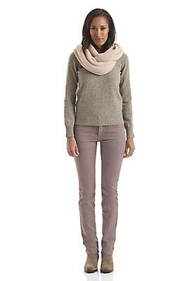 - Überfärbte Damen Jeans Straight Fit aus Bio-Denim