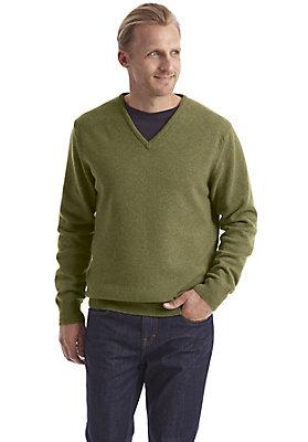 Pullover-und-Strickjacken Herren - V-Pullover