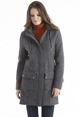 kw37-damenbekleidung-jacken-maentel - Walkmantel aus reiner Schurwolle