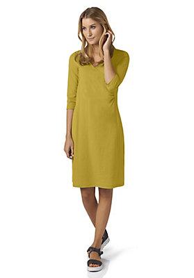 - Wickelkleid aus reiner Bio-Baumwolle