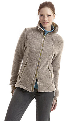 bestseller - Wollfleece-Jacke für Sie aus reiner Bio-Schurwolle