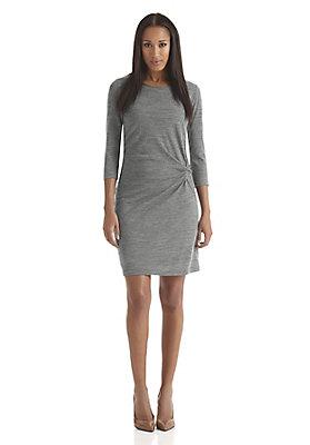 - Wolljersey-Kleid aus reiner Bio-Schurwolle