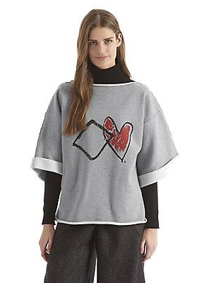 - Zero Waste Sweatshirt aus reiner Bio-Baumwolle
