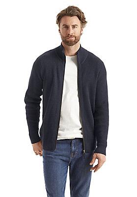 - Zipperjacke aus reiner Bio-Baumwolle