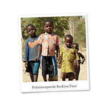 Prämienspende Burkina Faso