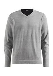 Basic V Pullover aus reiner Bio-Baumwolle