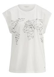 Bedrucktes Damen Shirt aus reiner Bio-Baumwolle