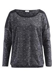 Bedrucktes Shirt auf reiner Bio-Baumwolle