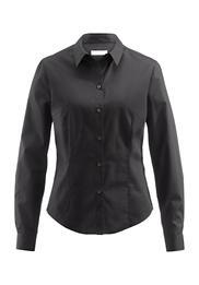 Bluse Modern Fit aus reiner Baumwolle