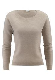 Boiled Wool Pullover aus reiner Bio-Merinowolle