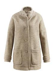 Damen Jacke aus reiner Schurwolle vom Rhönschaf