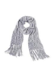 Damen Schal aus Schurwolle mit Bio-Baumwolle