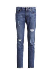Jeans Straight Fit Used aus reiner Bio-Baumwolle