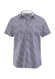 Kurzarmhemd Slim Fit aus Bio-Baumwolle
