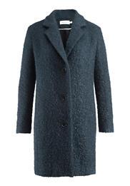 Mantel aus Mohair mit Schurwolle