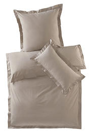 Perkal-Bettwäsche Penelope aus reiner Bio-Baumwolle