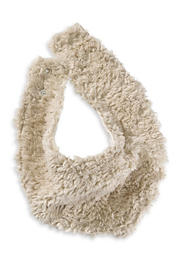 Plüsch Halstuch aus reiner Bio-Baumwolle