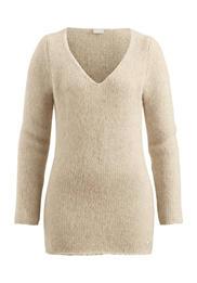 Pullover aus Alpaka mit Bio-Baumwolle und Schurwolle