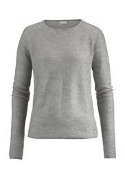 Pullover aus Bio-Baumwolle mit Mohair und Seide