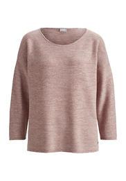Pullover aus Bio-Schurwolle mit Bio-Baumwolle