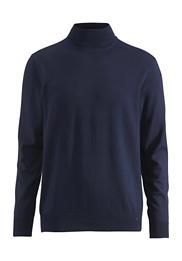 Rollkragen-Pullover aus reiner Bio-Schurwolle
