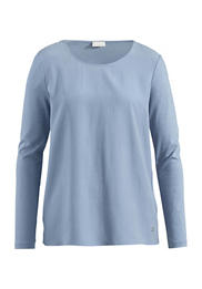 Shirt-Bluse aus Bio-Baumwolle und Modal