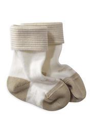 Socke mit Motiv aus Bio-Baumwolle