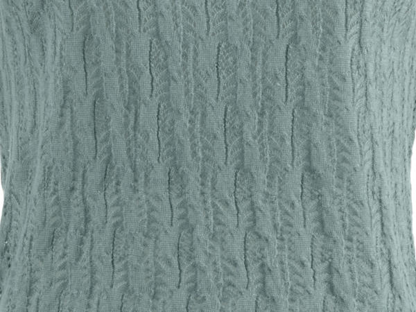 Ajour-Pullover aus Hanf mit Bio-Baumwolle
