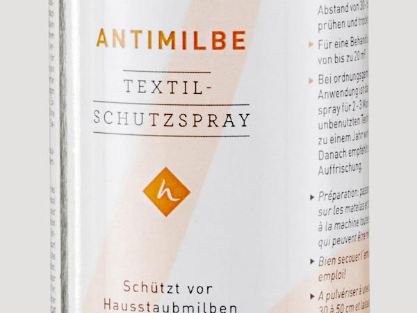 Anti-mite textile protection spray