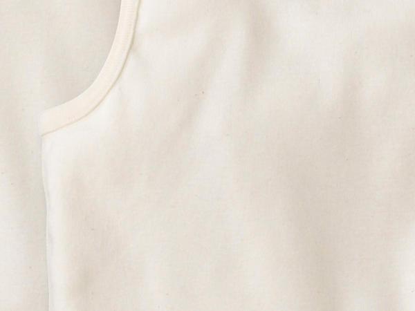 Armpit shirt set of 2 made of pure organic cotton