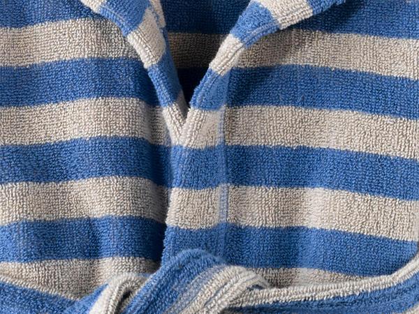 Baby Bademantel aus reiner Bio-Baumwolle