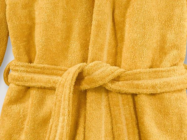 Bathrobe made from pure organic cotton