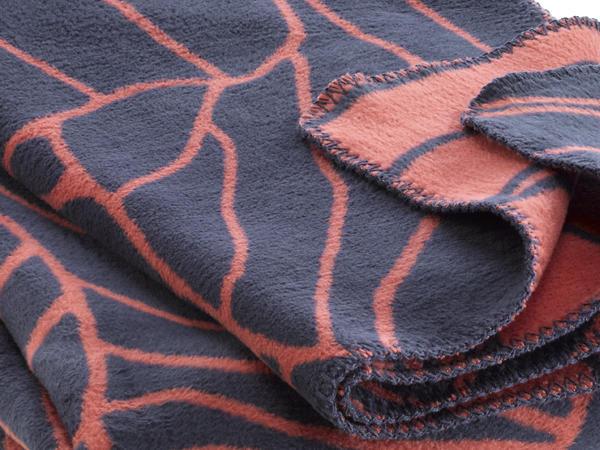 Baumwoll-Decke Suoni aus reiner Bio-Baumwolle