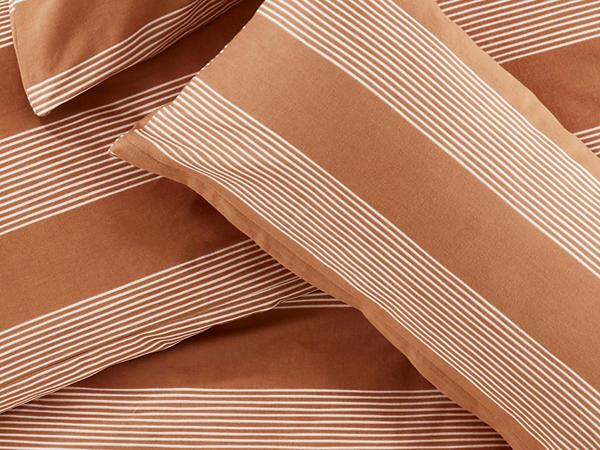 Biber-Bettwäsche Linea aus reiner Bio-Baumwolle