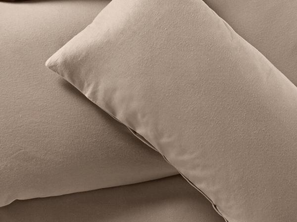Biber-Bettwäsche aus reiner Bio-Baumwolle