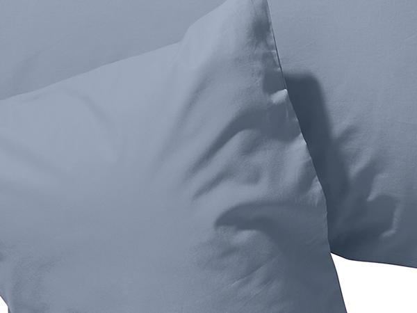 Biber-Kissenbezug aus reiner Bio-Baumwolle