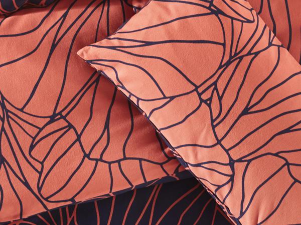 Biber-Wendebettwäsche Suoni aus reiner Bio-Baumwolle