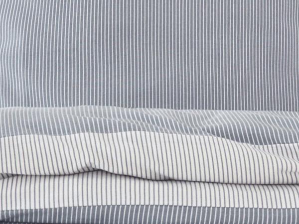 Biber-Wendebettwäsche aus reiner Bio-Baumwolle